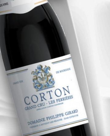 "Corton Grand Cru ""Les Perrières"" 2018 - Domaine Philippe Girard"