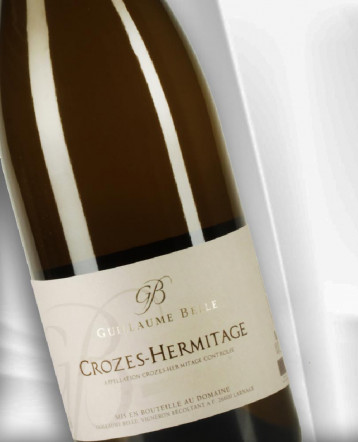 Crozes Hermitage bio blanc 2018 - Domaine du Peizon - Guillaume Belle