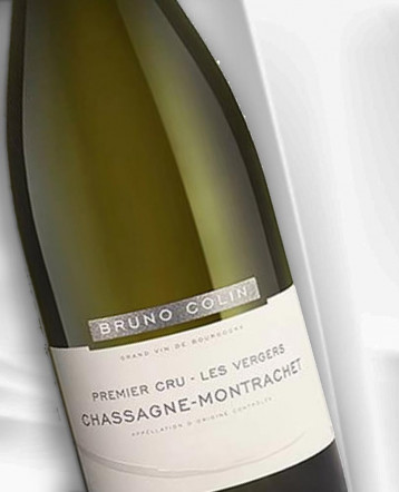 Chassagne-Montrachet 1er Cru Les Vergers blanc 2014 - domaine Bruno Colin