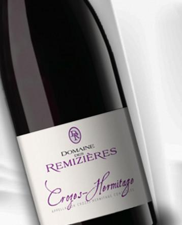 Crozes - Hermitage rouge 2019- Domaine des Remizières