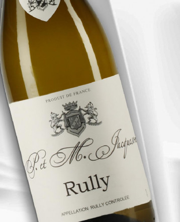 Rully blanc 2018 - Domaine Paul et Marie Jacqueson