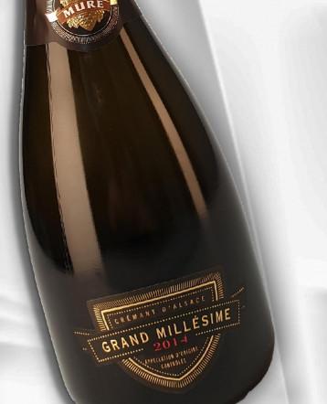 Crémant d'Alsace Grand Millésime 2014 - Domaine Muré