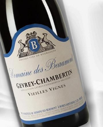 Gevrey Chambertin Vieilles Vignes rouge 2018 - Domaine des Beaumont