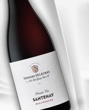 """Santenay 1er Cru """"Beauregard"""" rouge 2017 - Maison Edouard Delaunay"""