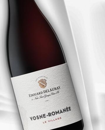 Vosne-Romanée rouge 2018 - Maison Edouard Delaunay