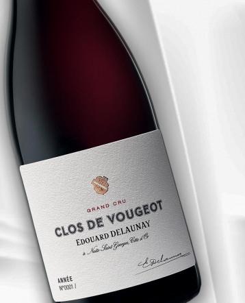 Clos de Vougeot Grand Cru rouge 2018 - Maison Edouard Delaunay