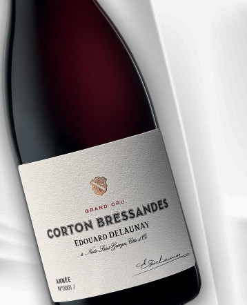 Corton Bressandes Grand Cru rouge 2017 - Edouard Delaunay