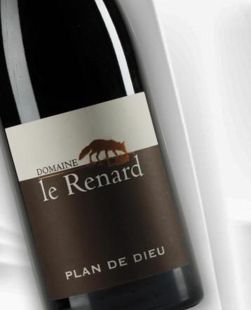 Côtes du Rhône Villages Plan de Dieu rouge 2018 - Domaine Le Renard