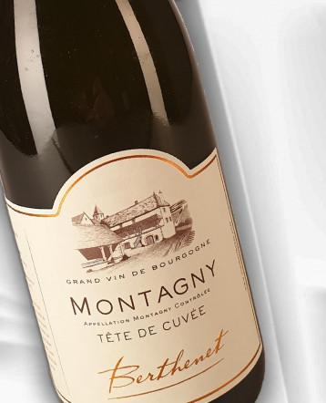 Montagny Tête de Cuvée blanc 2018 - Domaine Berthenet