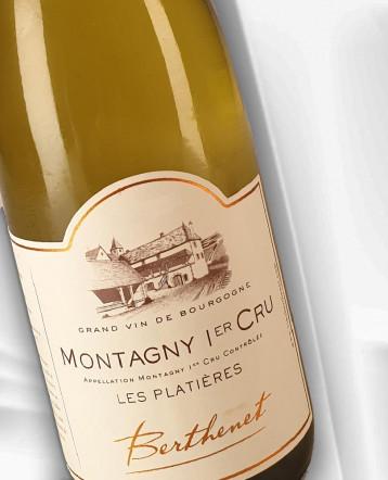 Montagny 1er Cru Les Platières blanc 2018 - Domaine Berthenet