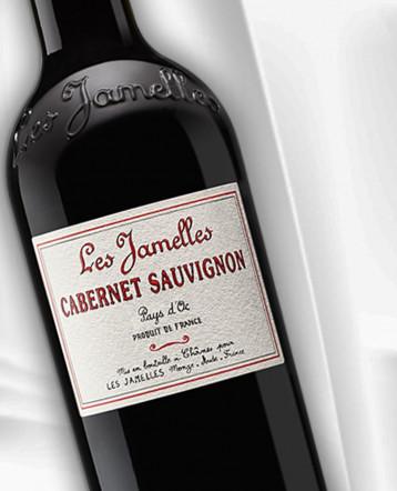 Cabernet Sauvignon rouge 2019 - Les Jamelles