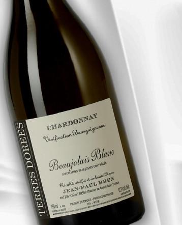 """Beaujolais blanc """"Vinification Bourguignonne"""" 2019 - Domaine des Terres Dorées Jean-Paul Brun"""
