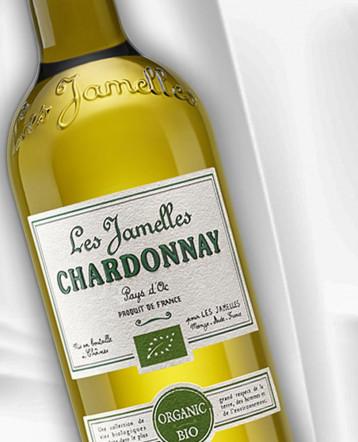 Chardonnay Bio blanc 2019 - Les Jamelles