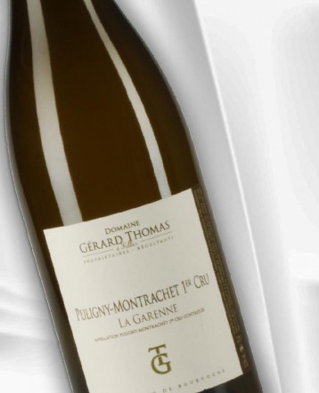 Puligny-Montrachet 1er Cru La Garenne blanc 2019 - Domaine Gérard Thomas