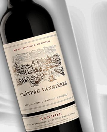 Bandol rouge 2018 - Château Vannières