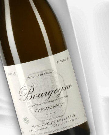 Bourgogne Chardonnay blanc 2018 - Domaine Marc Colin