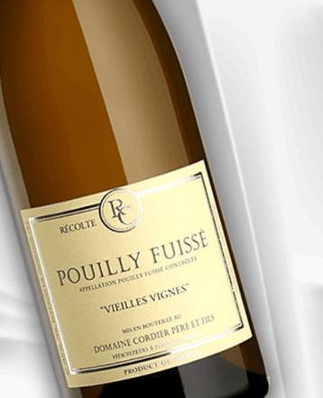 Pouilly-Fuissé Vieilles Vignes blanc 2019 - Domaine Christophe Cordier