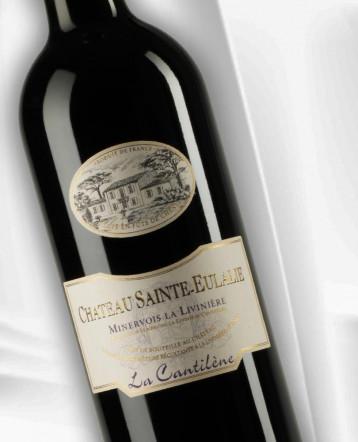 """""""La Cantilène"""" Minervois La Livinière rouge 2018 - Château Sainte Eulalie"""