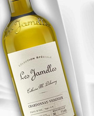 """Chardonnay-Viognier blanc 2019 - Les Jamelles """"Sélection Spéciale"""""""