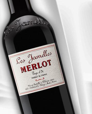 Merlot rouge 2019 - Les Jamelles