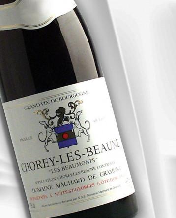 """Chorey les Beaune """"Les Beaumonts"""" rouge 2019 - Domaine Machard de Gramont"""