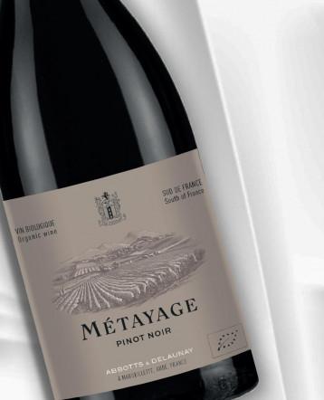 Métayage Pinot Noir BIO rouge 2019 - Abbotts et Delaunay