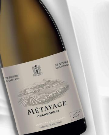 Métayage Chardonnay BIO blanc 2019 - Abbotts et Delaunay