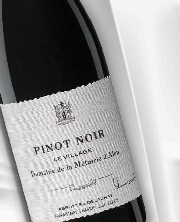 """""""Le Village"""" Pinot Noir rouge 2017 - Domaine de la Métairie d'Alon"""