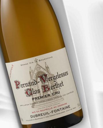 Pernand Vergelesses 1er Cru Clos Berthet Monopole blanc 2019 - Domaine Dubreuil Fontaine