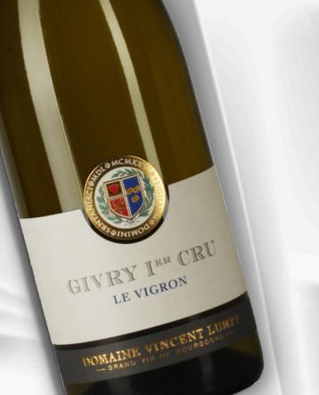 Givry 1er Cru Le Vigron blanc 2019 - Domaine Vincent Lumpp