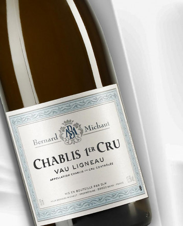Chablis 1er Cru Vau Ligneau blanc 2019 - Domaine Bernard Michaut