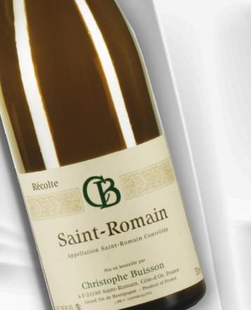 Saint Romain blanc 2018 - domaine Christophe Buisson