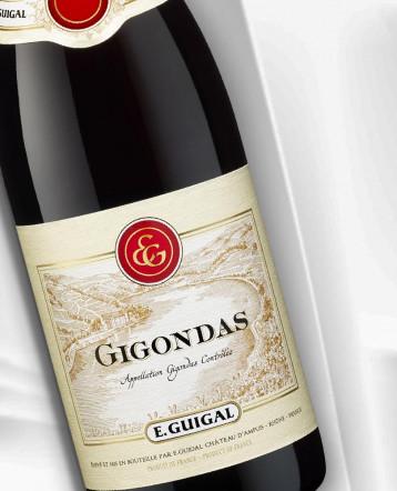 Gigondas rouge 2017 - E.Guigal