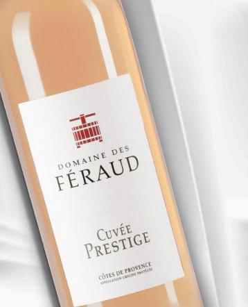 Côtes de Provence Cuvée Prestige bio rosé 2020 - Domaine des Feraud