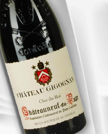 Châteauneuf-du-Pape Clos du Roi bio rouge 2017 - Château Gigognan