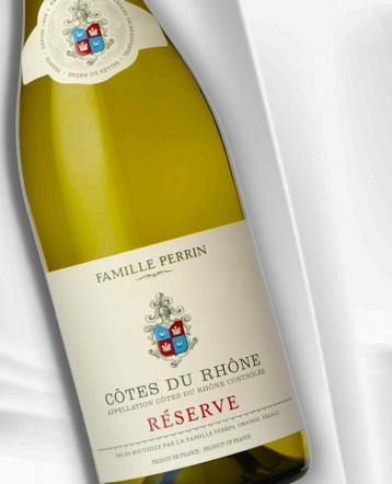 Côtes du Rhône Réserve Blanc 2019 - Famille Perrin
