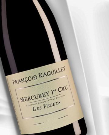 Mercurey 1er Cru Les Veleys rouge 2018 - Domaine François Raquillet