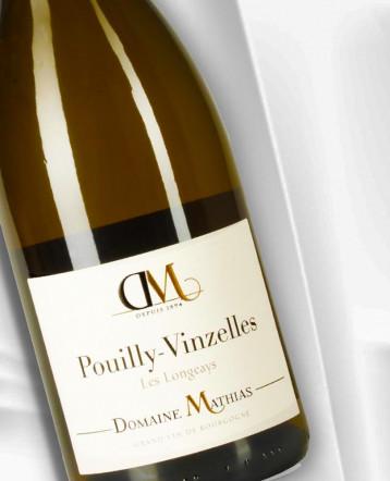 Pouilly-Vinzelles Les Longeays Bio blanc 2019 - Domaine Mathias