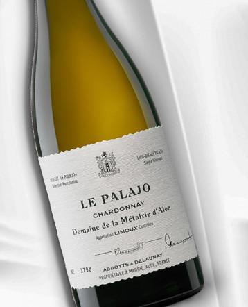 """""""Le Palajo"""" Chardonnay Limoux blanc 2019 - Domaine de la Métairie d'Alon"""