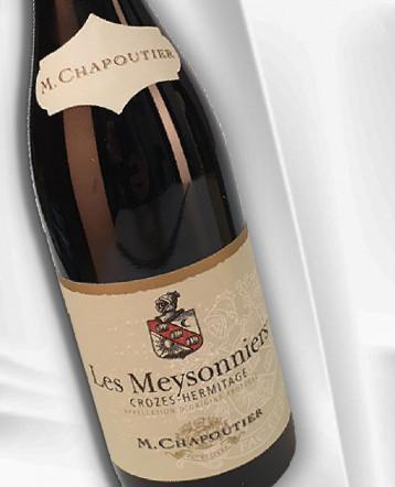 """Crozes-Hermitage """"Les Meysonniers"""" rouge 2018 bio - M Chapoutier"""