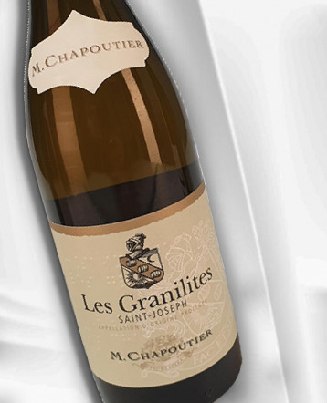 "Saint Joseph ""Les Granilites"" blanc 2018 bio - M Chapoutier"