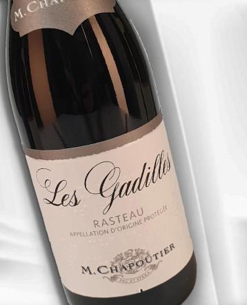 """Rasteau """"Les Gadilles"""" rouge 2020 - M Chapoutier"""