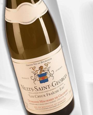 """Nuits Saint Georges """"Les Creux Fraiche Eau"""" blanc 2019 - Domaine Machard de Gramont"""