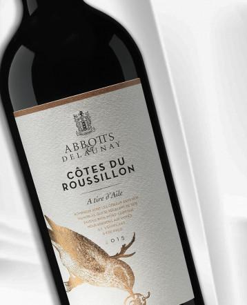 """Côtes du Roussillon """"A Tire d'Aile"""" rouge 2017 - Abbotts et Delaunay"""