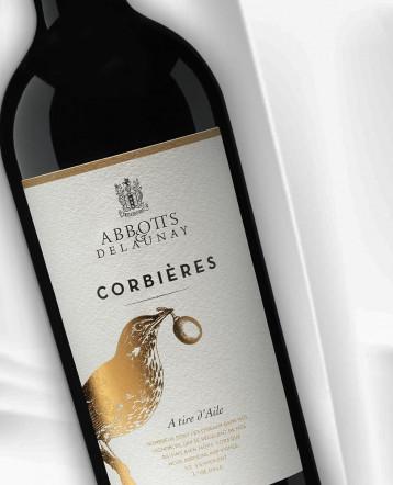 """Corbières """"A Tire d'Aile"""" rouge 2018 - Abbotts et Delaunay"""