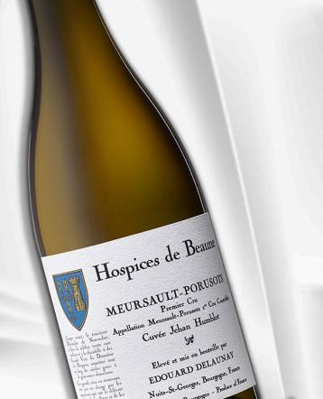 Meursault 1er Cru Porusots Cuvée Jehan Humblot blanc 2017 - Hospices de Beaune