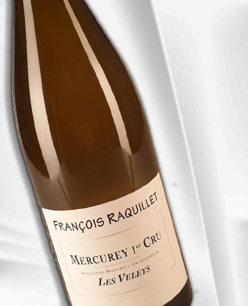 Mercurey 1er Cru Les Veleys blanc 2018 - Domaine François Raquillet