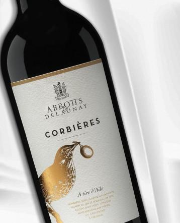"""Corbières """"A Tire d'Aile"""" rouge 2016 - Abbotts et Delaunay"""