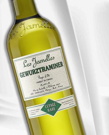 Gewurztraminer blanc 2020 - Les Jamelles