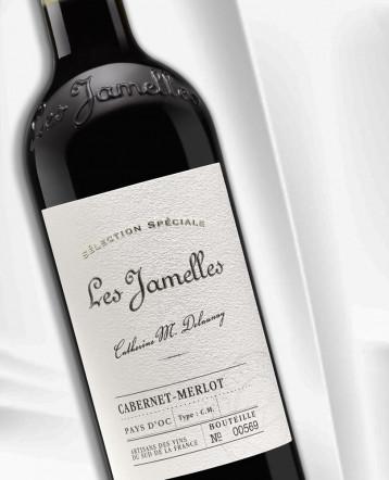 """Cabernet-Merlot """"Sélection Spéciale"""" rouge 2019 - Les Jamelles"""